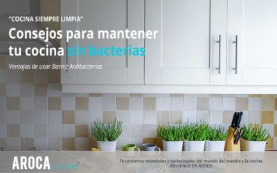Como tener una cocina sin bacterias