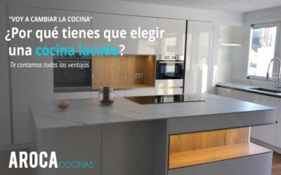 ¿Por qué elegir una cocina lacada?