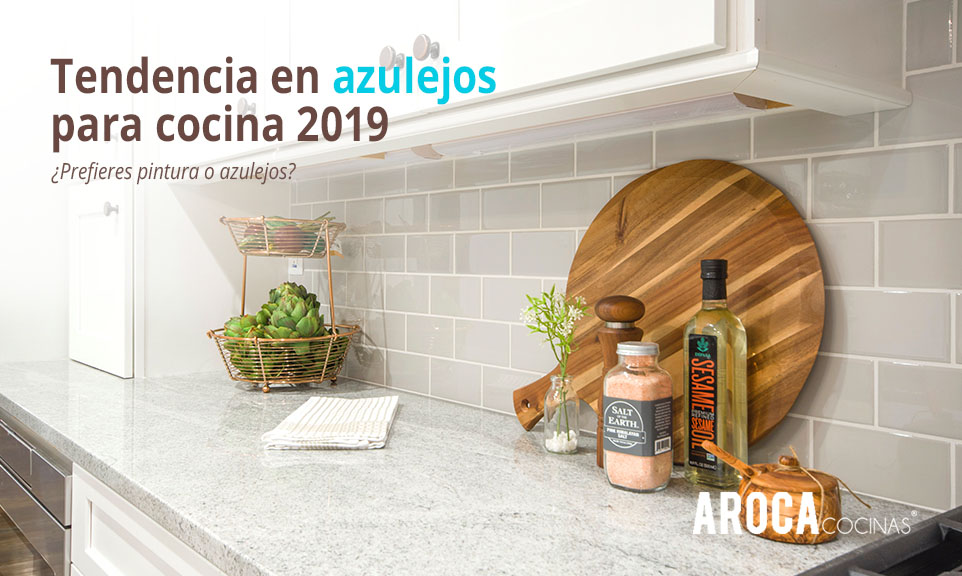Tendencias en azulejos para cocina 2019