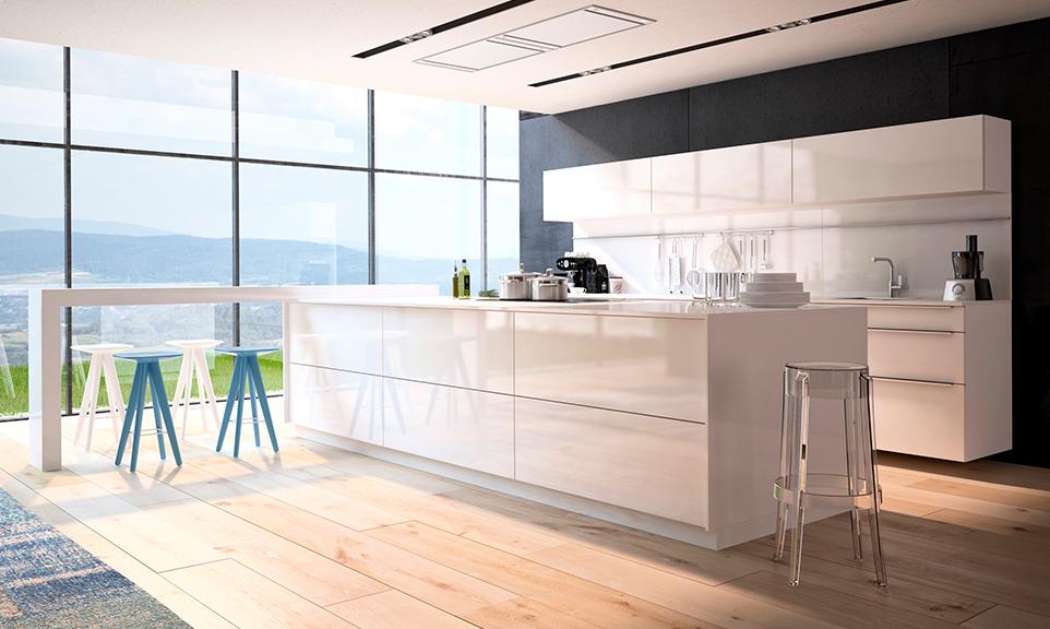 Por qué elegir una cocina lacada? - Muebles Aroca