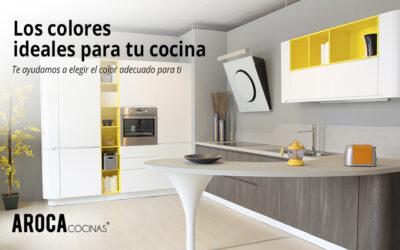 Los colores ideales para los muebles de tu cocina
